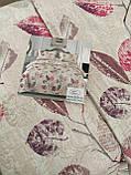 Летнее одеяло покрывало плед на кровать хлопок принт Цветы евро размер 200х230 см 2 наволочки 50х70 см Турция, фото 6