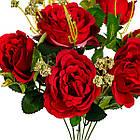"""Букет троянд """"Дам де кер"""", червоний 32см, фото 2"""