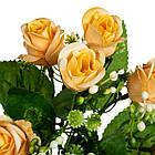 "Букет роз ""Суперстар"" желтый 30см, фото 2"