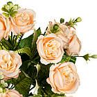 """Букет """"Троянди"""" жовтий 30см, фото 2"""
