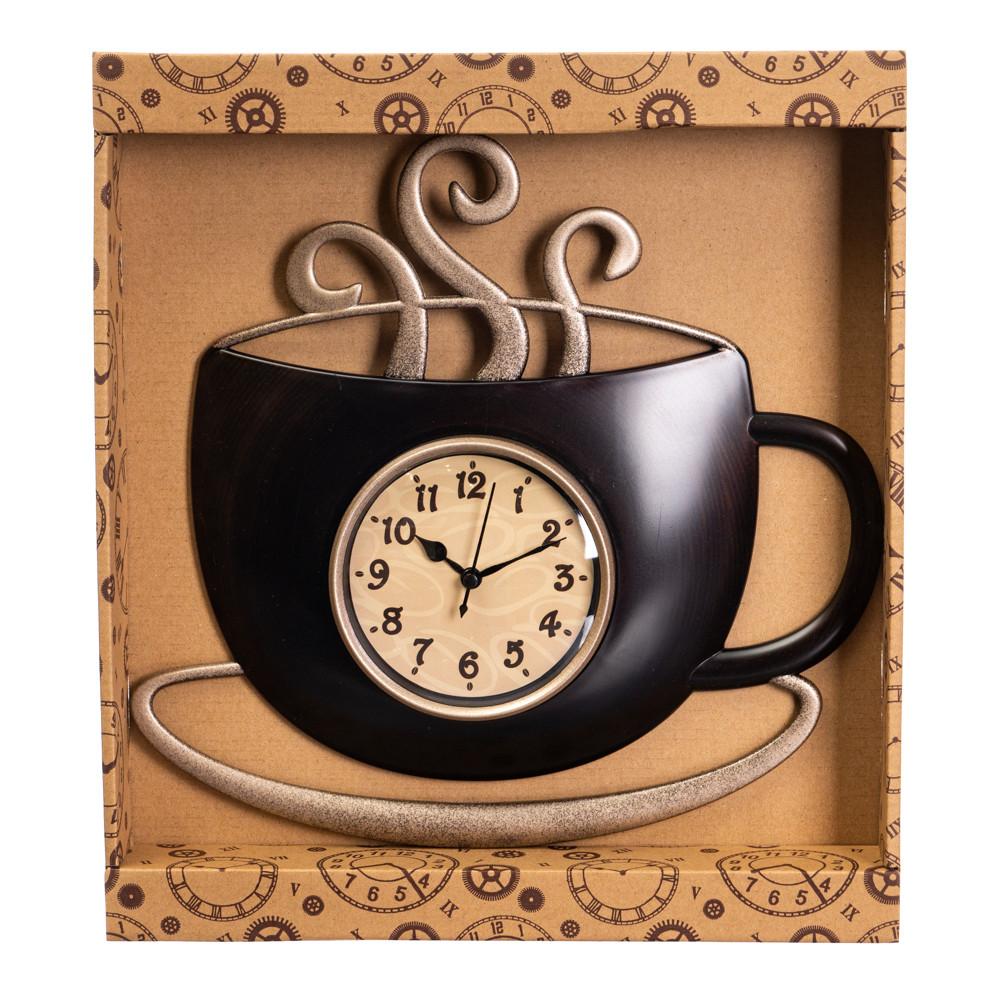 """Годинник """"Чашка гарячої кави"""""""