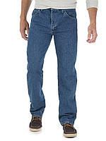 Мужские джинсы Wrangler, стандартного кроя, синий, 100% оригинал,USA
