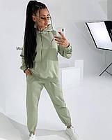 Жіночий осінній спортивний костюм з двухнити в кольорах (Норма), фото 3