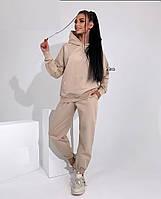 Жіночий осінній спортивний костюм з двухнити в кольорах (Норма), фото 4