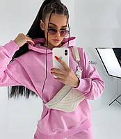 Жіночий осінній спортивний костюм з двухнити в кольорах (Норма), фото 7