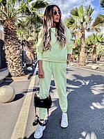Жіночий осінній спортивний костюм з двухнити в кольорах (Норма), фото 8
