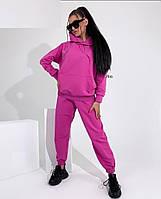 Жіночий осінній спортивний костюм з двухнити в кольорах (Норма), фото 9