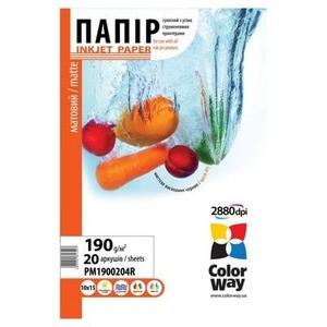 ColorWay (ПМ 190-20) PM190020A4 А4 20шт