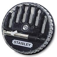 Набор 168737 Stanley из 7 предметов - отверточных насадок (бит) + держатель