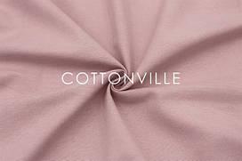 Декоративная ткань/ панама Пыльно-розовая (остаток 1.30 мп)