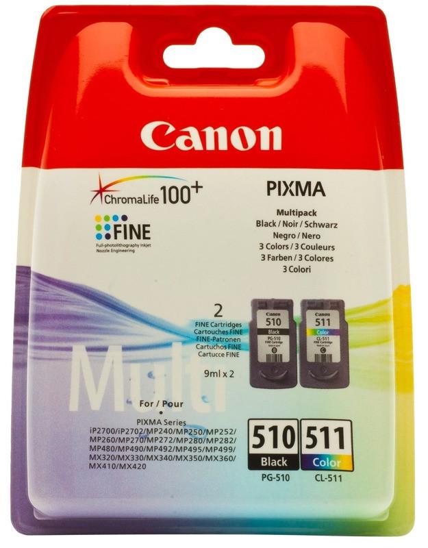 Картридж Canon PG-510/CL511 (2970B010) Black/Color