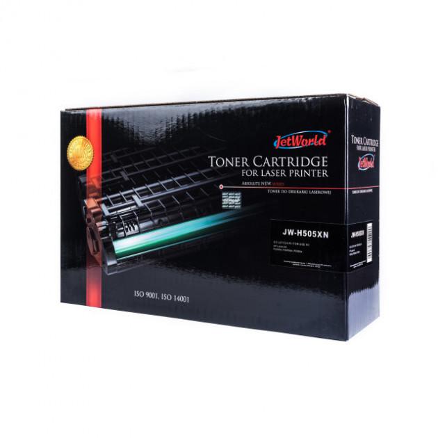 Картридж JetWorld HP 05X CE505X Black