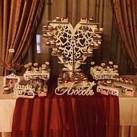 Свадебный Кенди бар Candy Bar  Марсала