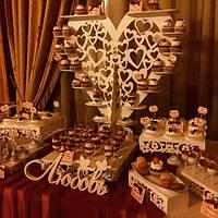 Свадебный Candy Bar Кенди бар   Марсала, фото 1