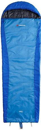 Прочный спальный мешок Caribee  Plasma Hyper Lite / +12°C Spirit Blue (Left) 920691 голубой