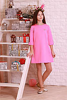 Красивое, стильное, жаккардовое  детское платье.