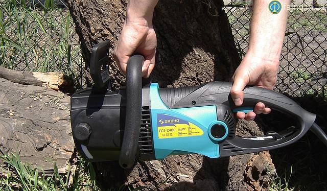Электропила цепная ECS-2400 Sadko фото 1