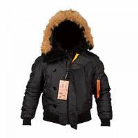 Куртка Chameleon зимняя N-2B Black, фото 1