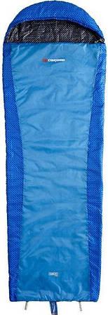 Теплый спальный мешок Caribee  Plasma Hyper Lite / +12°C Spirit Blue (Right) 921414 синий