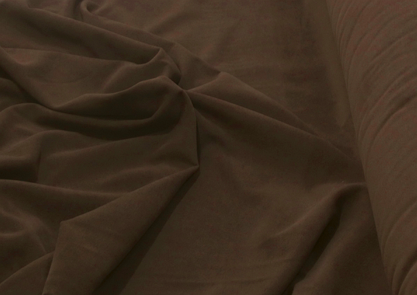 Кашемир коричневый плотный, фото 2