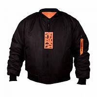 Куртка Chameleon зимняя МА-1 Black, фото 1