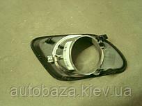 Решетка бампера переднего правая - хром  EC7RV 1068003046