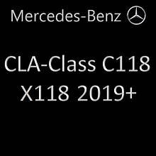 CLA-Class II C118, X118 2019+