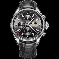 Швейцарський годинник пілота Aerowatch LES GRANDES CLASSIQUES Chrono Moon Phase Limited Edition 69989AA02