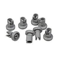 Комплект колес (8шт) верхнего ящика для посудомоечных машин Electrolux 50286967000