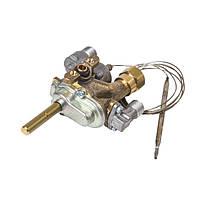 Кран газовый духовки для газовой плиты Indesit C00082339 (с термостатом)
