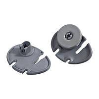 Комплект колес (2шт) + держателей (2шт) для ящика посудомоечной машины Electrolux 50269761008 (50269766007) (code: 12668)