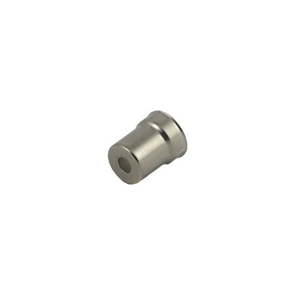 Металлический колпачок на магнетрон для СВЧ-печи Toshiba (code: 06426)