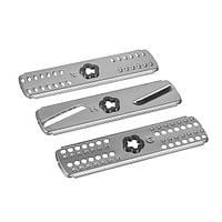 Набір вставок - терок MS-651629 (3 шт. дрібна+деруни+скибочками) для блендерів Moulinex