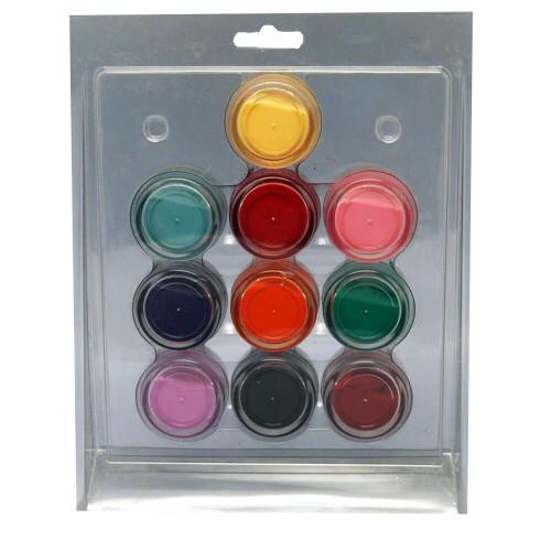 Акрил 10 кольорів яскравий в блістері
