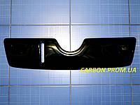 Зимняя заглушка решётки радиатора Шкода Октавия А5 верх 2004-2009 глянец Fly. Утеплитель Skoda Oktav