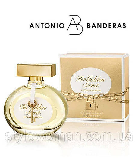 Antonio Banderas Her Golden Secret ,Антонио Бандерас Хер Голден Сикрет, женский реплика