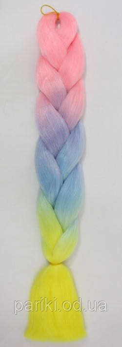 КАНЕКАЛОН 60 див. 100 гр. Омбре4 Jumbo braid