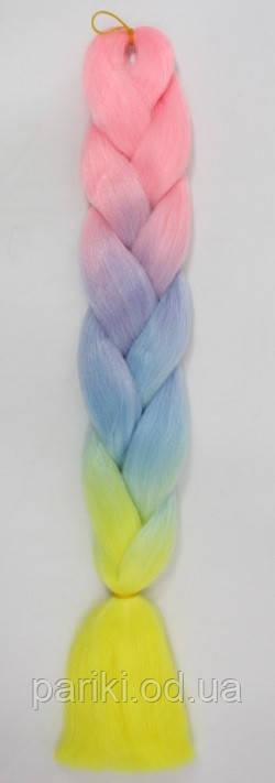 КАНЕКАЛОН  60 см. 100 гр. Омбре4   Jumbo braid