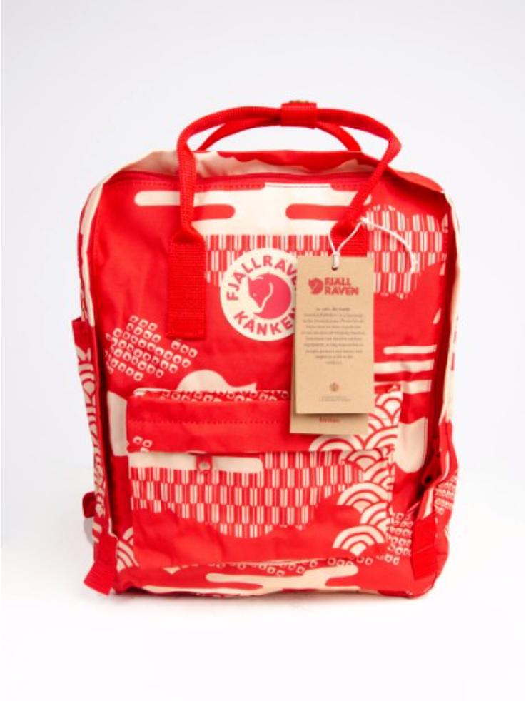 Рюкзак  Fjallraven ART  Kanken Bag Mini 8 литров  Топ качество красный