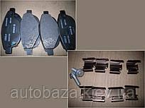 Колодки тормозные передние   EC7 1064001724