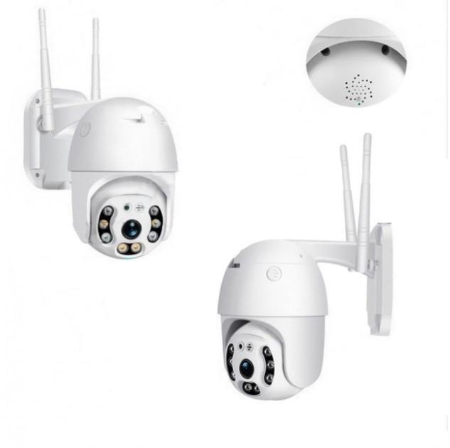 Камера видеонаблюдения поворотная с удаленным доступом UKC CAMERA CAD N3 WIFI IP 360/90 2.0 Мп
