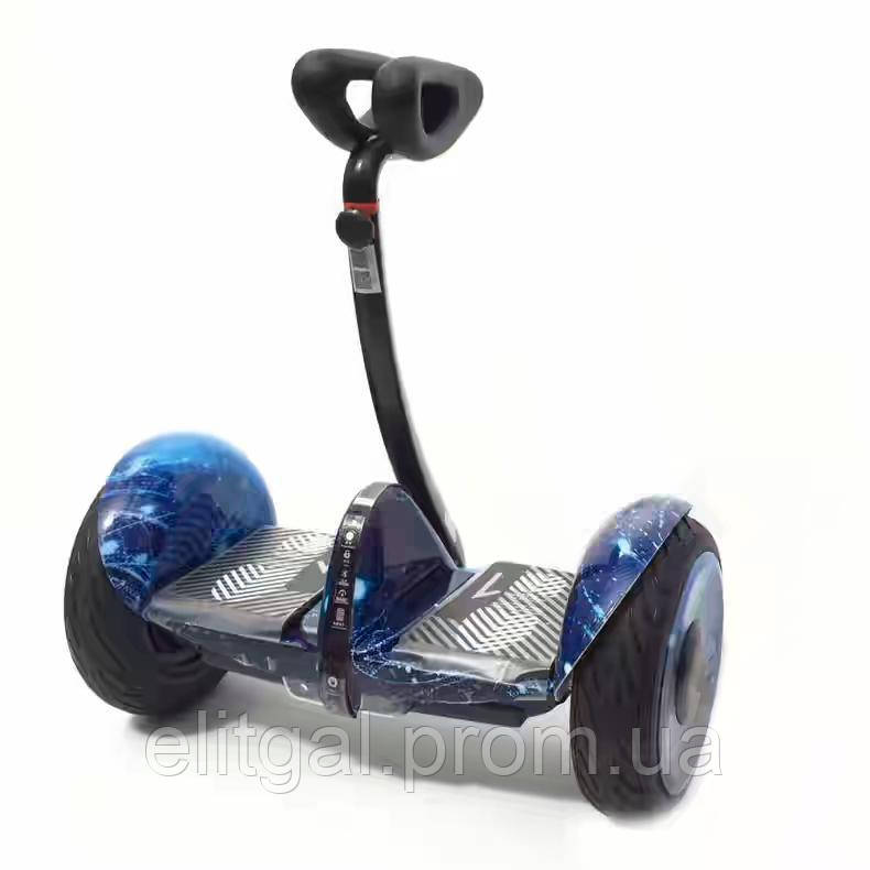 Гироскутер Mini Robot 10.5 36V Синій космос