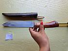 Узбекский  нож пчак (пичок) ручная работа. Оригинал с Узбекистана. Кухонный нож., фото 6