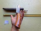 Узбекский  нож пчак (пичок) ручная работа. Оригинал с Узбекистана. Кухонный нож., фото 7