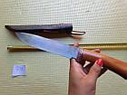 Узбекский  нож пчак (пичок) ручная работа. Оригинал с Узбекистана. Кухонный нож., фото 3