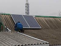 Монтаж  солнечных фото панелей и  солнечных электростанций