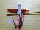 Нож узбекский (пичок) пчак. Большой нож шеф., фото 3