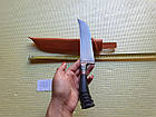 Нож узбекский (пичок) пчак. Большой нож шеф., фото 4