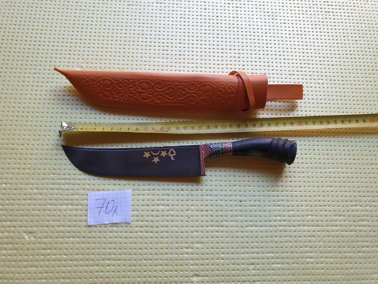 Нож узбекский (пичок) пчак. Большой нож шеф.