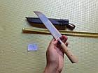 Ніж узбецький. Пчак узбецький. Традиційні узбецькі ножі Пчаки. Ніж ручної роботи., фото 4